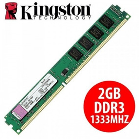 Memoria Ddr3 2gb Kingston 1333mhz