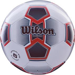 552c6fddb Bola De Futebol De Campo Illusive Ii N.5 Vermelha Wilson