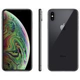 iPhone Xs Max 64gb Cinza Espacial Ios12 Anatel- Lacrado