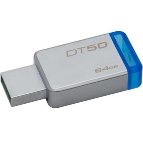 Memoria Usb 64gb Metalica Kingston Dt50 Usb 3.1 Dt50/64gb