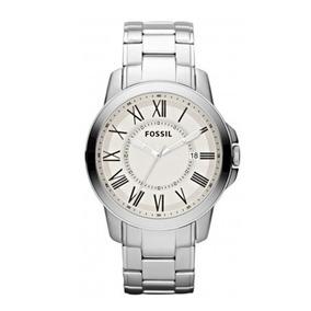 Relógio Fossil Grant Stainless Steel - Fs 4734z - Masculino