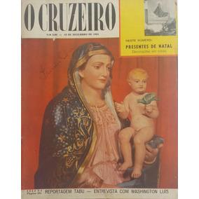 Revista O Cruzeiro 1954 1 º Congresso Mundial De Impressa