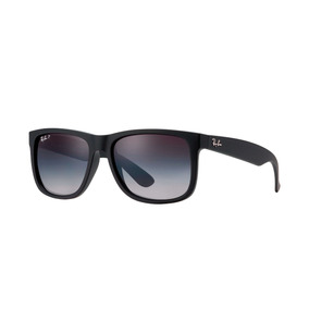 Ray Ban Rb4165 622/t3 Justin Polarizado Gris Degradado