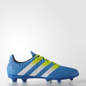 968442d175bf7 Zapatos Futbol Soccer Adidas Ace 16.3 Azules - Tacos y Tenis de ...