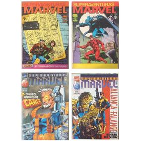 Lote - Superaventuras Marvel - Anos 80/90 (envio Incluído)