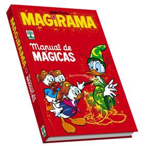 Livro Coleção Hq Manual De Mágicas Magirama Disney Novo