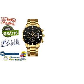 Relógio Nibosi L Frete Grátis