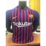 Camiseta Barcelona Local Vidal - Messi 2018 Version Jugador 7eb68b76b3461