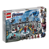 Lego Marvel Avengers Endgame Iron Man Salon Armaduras 76125
