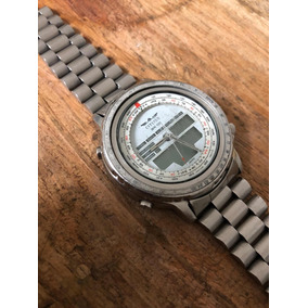 14b1082ed18 Relógio Citizen Hora Mundial Wr100 Co80 Sucata Ou Restauro
