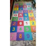 801abfc0d14 Alfombra Goma Eva De Letras Y Numeros - Artículos para Bebés en ...