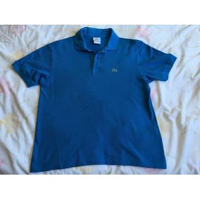 Camisa Lacoste Infantil - Calçados, Roupas e Bolsas no Mercado Livre ... d95becad03