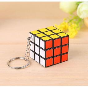 Chaveiro Cubo De Rubik Cubo Mágico 3x3x3