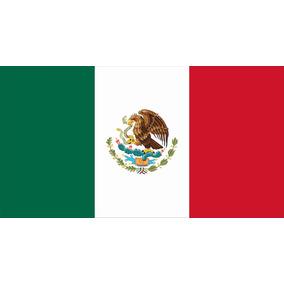 Lienzo Tela Bandera Actual De México 50 X 90 Cm Historia 8d2abe73550