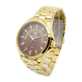a14d534c88b Relógio Luminox Gmt Carbon 5021.gn por Olist. 1 vendido · Relógio Masculino  Tuguir Analógico 5021 Dourado