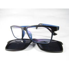 4412eca4d2a0c Armação De Óculos De Grau Com Adicional Sol - Óculos no Mercado ...