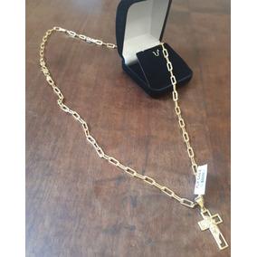 a96d960e4f0 Pra Vender Ligeiro!!! Cordão Cartier 3-4mm Banhado A Ouro N · Cordão Cartier  Grossa Banhado A Ouro Com Garantia 1 Ano