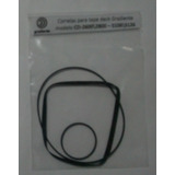 Kit 3 Correias Tape Deck Gradiente S126 \ Cd 2800 \ Jvc Kd-a