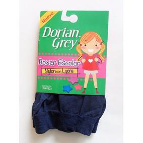 6 Boxers Escolar Dorian Grey Lycra- Nylon