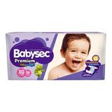 Pañales Babysec Premium Flexiprotect Xg 11 - 14 Kg. X 36 U.
