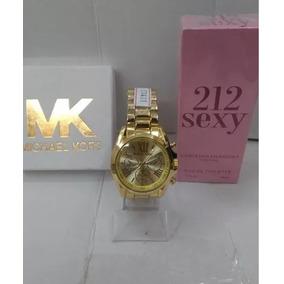 77fb23fb0f5 Relogio Feminino Mk Top - Relógios De Pulso no Mercado Livre Brasil