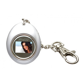 Chaveiro Porta-retrato Digital C/relógio D-c 12490-cl