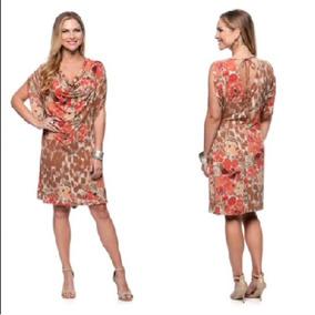 Hermoso Vestido Floral Casual, Diseñador Talla S