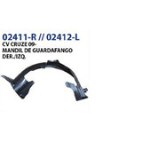 Set De Faros Neblineros Funda/cable/switch Cv Cruze