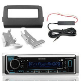Radio Bluetooth Marina Kenwood Kmr-m322bt, Kit De Tablero En