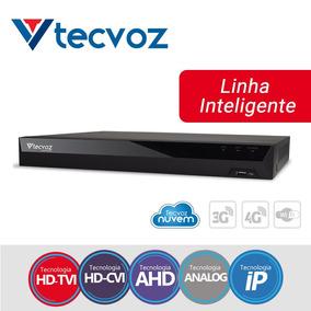Dvr Tecvoz Tv-p5004 4 Canais Full Hd