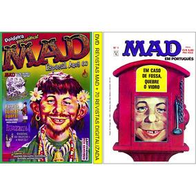 3 Dvds Com Revistas Mad C/ + De 110 Revistas Digitalizadas