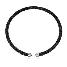 Collar Con Cristales, Ocean Heart Oh17-95