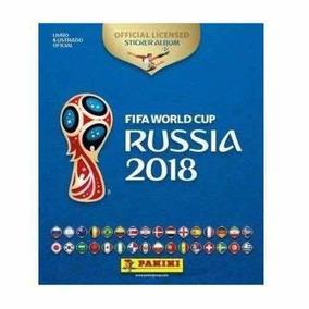 Album Capa Dura De Figurinha Copa 2018 Completo