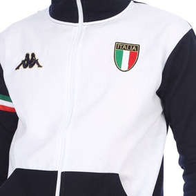 Chamarra Hombre Kappa Escudo Borado De Italia Envio Gratis