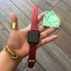Correa De Silicon Para Watch De 42mm En Color Rojo