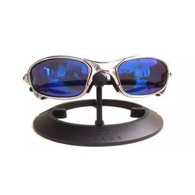 648f8b3ae Juliet Cromado Original - Óculos De Sol Oakley no Mercado Livre Brasil