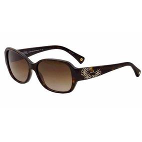 Óculos De Sol Coach Usa Original Hc 8011b (l022) Reese Black 3ae6356df8