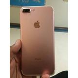 iPhone 7 Plus Rose 128g 87% Bateria