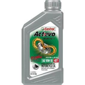 Castrol Actevo 4t 10w-30 Aceite Para Moto Ps Cajax6 Ud