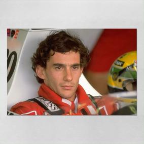 Poster Gigante Ayrton Senna Formula 1 52