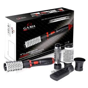 Escova Rotativa Giratória Modela Alisa Seca Gama 1300w Pro