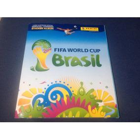 Álbum Copa Do Mundo Fifa 2014 - Completo - Cromos Colados