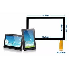 Mica Tactil 30 Pines Para Tablet Q88 7 . Tienda Fisica