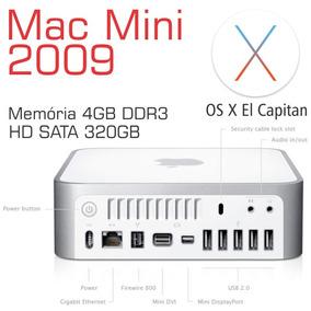 Macmini A1283 Intel C2d Hd 320gb 4gb Ddr3 El Capitan - Loja