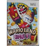 Juego Wii Wario Land Shake It!