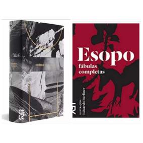 Livro Odisseia Homero + Esopo - Edição Especial Cosac Naify