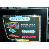 Consola Mini Sega Genesis Con 6 Juegos En Memoria