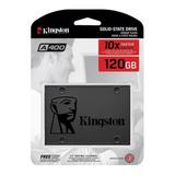 Disco Solido 120gb Ssd Kingston A400 Sata 3 Laptop Pc Nuevo