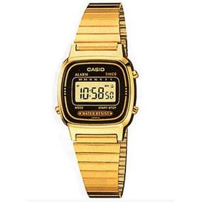 6505c03bb96 Relogio Casio La670wga 1df Dourado - Relógios no Mercado Livre Brasil