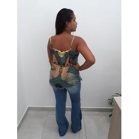 Blusa Roxa Scala Alcinha Trabalhada - Calçados eeccf9a8157